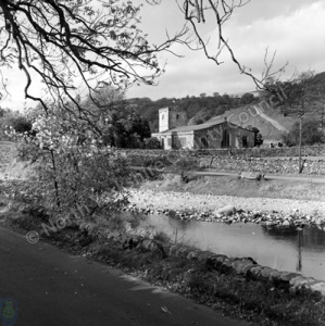 Hubberholme Church and River Wharfe